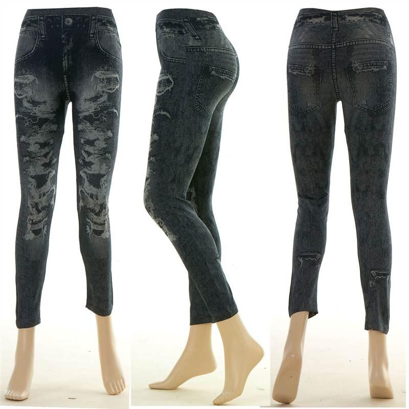 damen leggings jeggings modisch enge jeans blick f r gr e. Black Bedroom Furniture Sets. Home Design Ideas