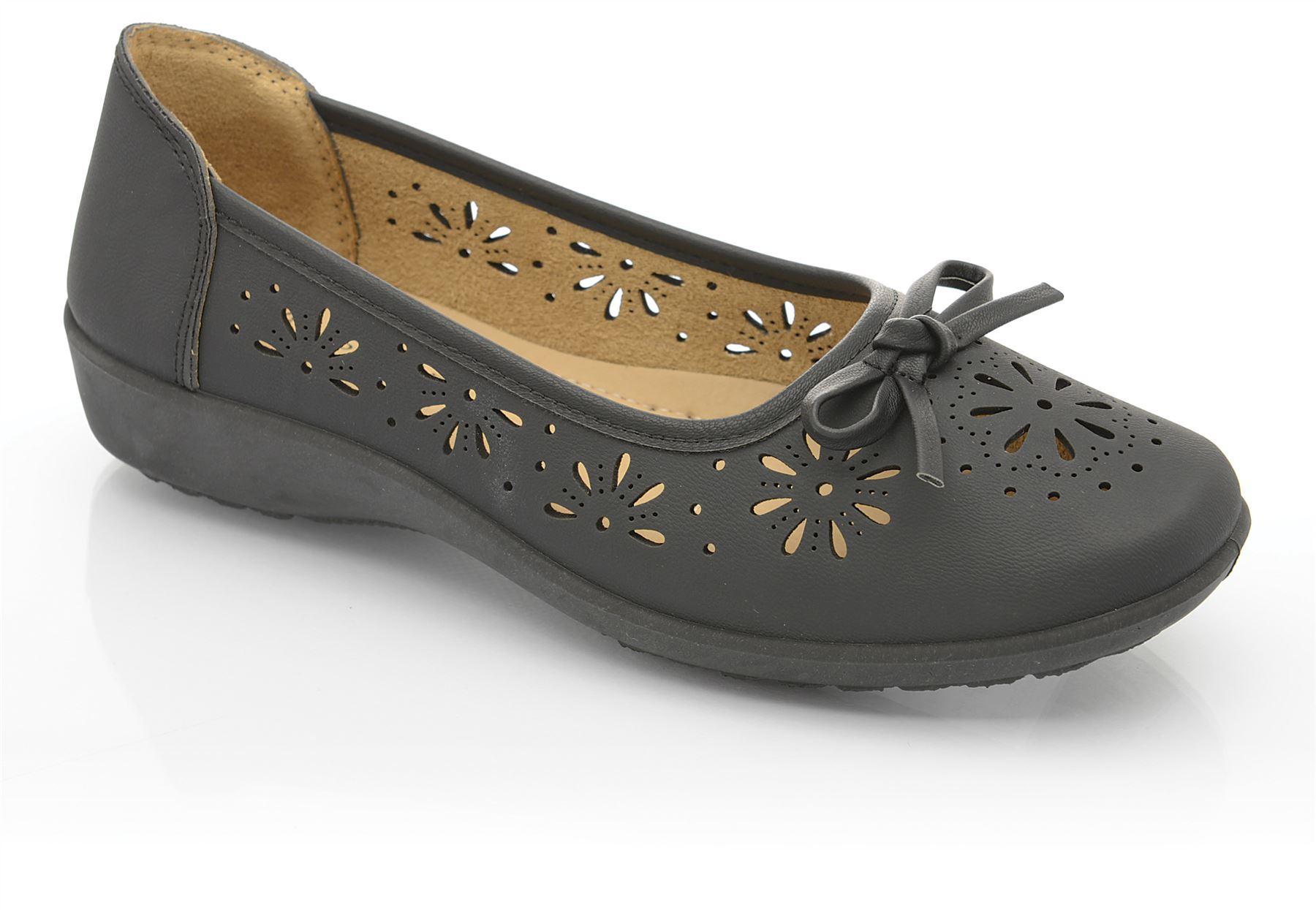 damen classique comfort pu ausgeschnittenes leder slipper. Black Bedroom Furniture Sets. Home Design Ideas