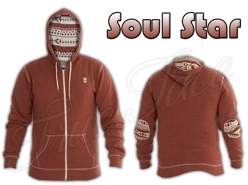 Mens-Boys-SoulStar-Plain-Designer-Zip-Hoodie-Sweatshirt-Hooded-Top-Sports-Jumper