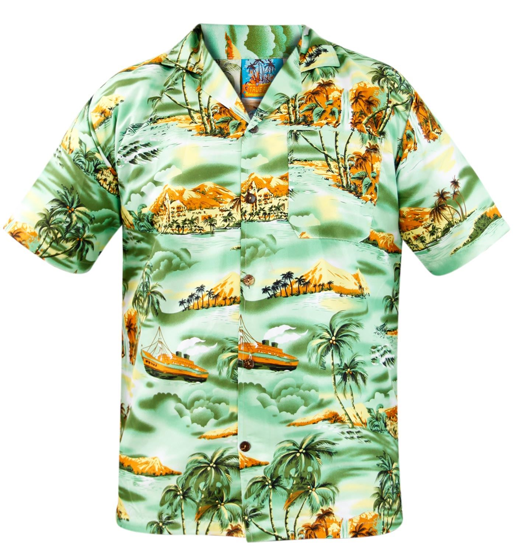 true face hawaiian short sleeve bwucg