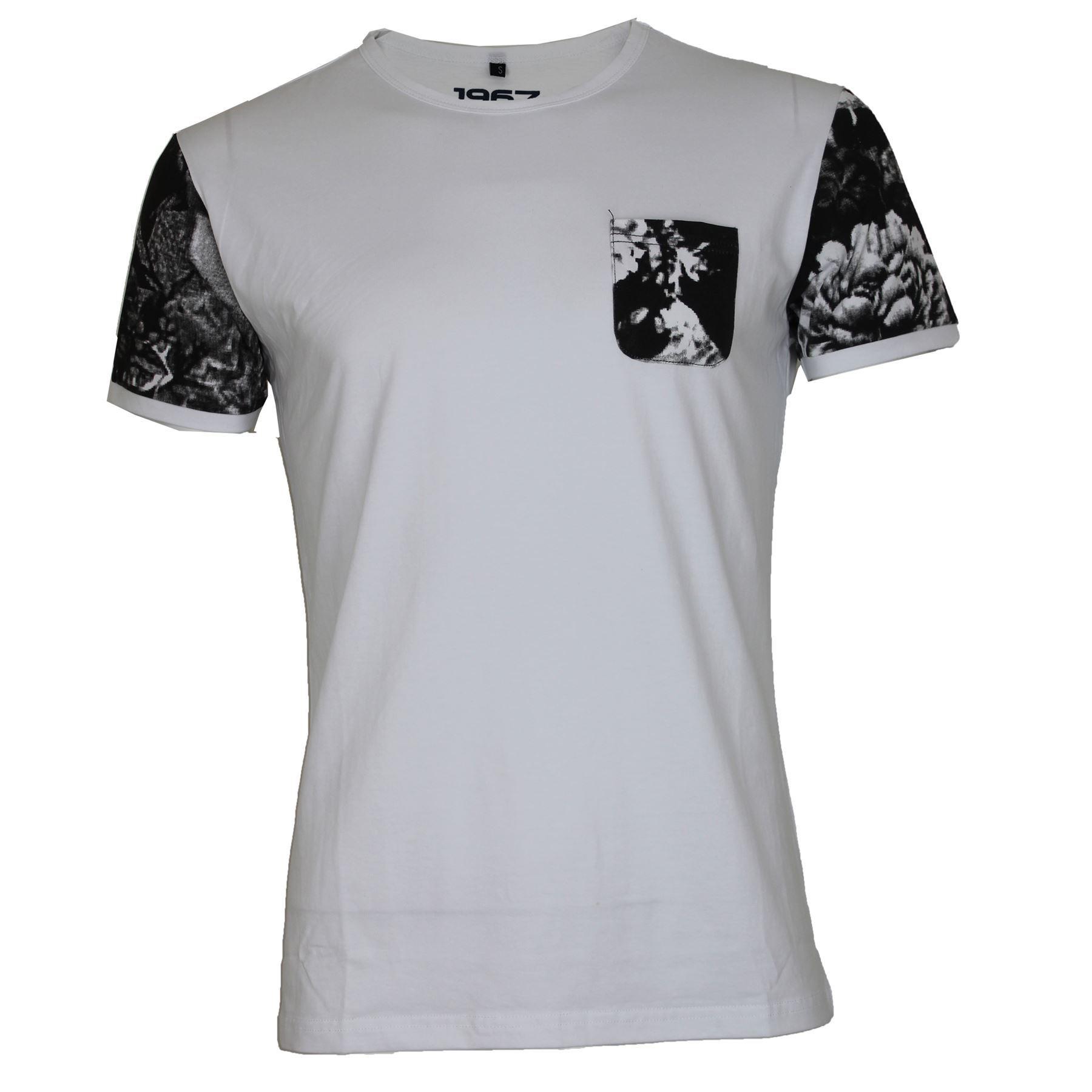 Mens d rock short sleeve easy strech floral pattern summer for Mens short sleeve floral shirt