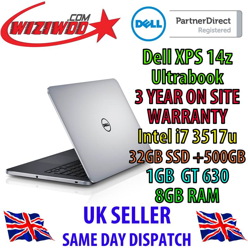 Dell xps 14 memory slots