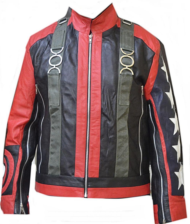 Leather jacket italy - Celebrita Italy Men 039 S 5 Star Biker