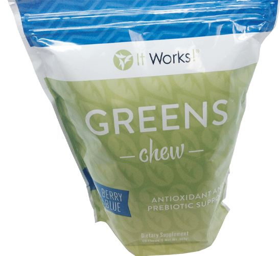 Chewable greens
