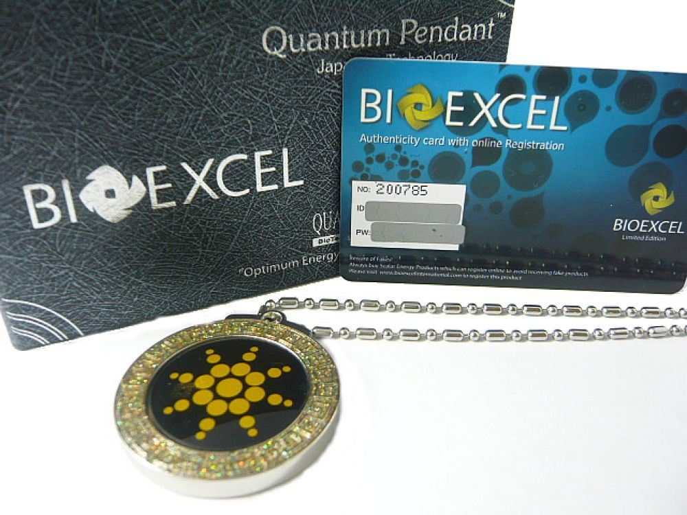 Bioexcel Quantum Scalar Energy Healing Steel Frame Pendants – Choose Color