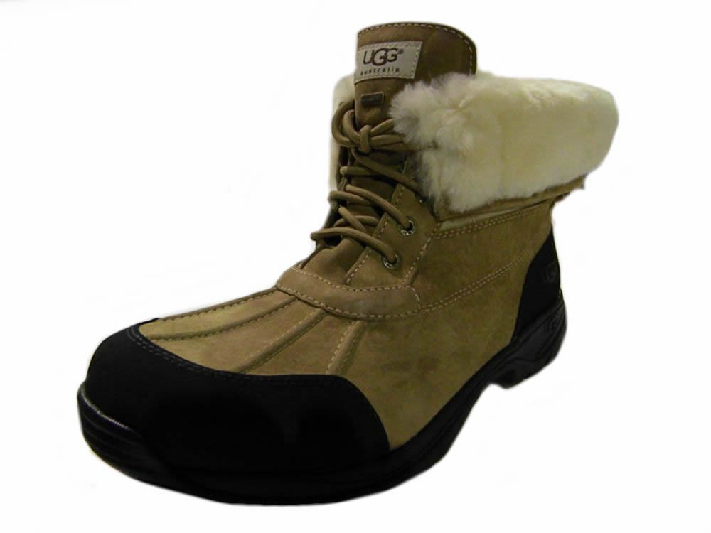 ugg australia mens hilgard leather snow boots many sizes