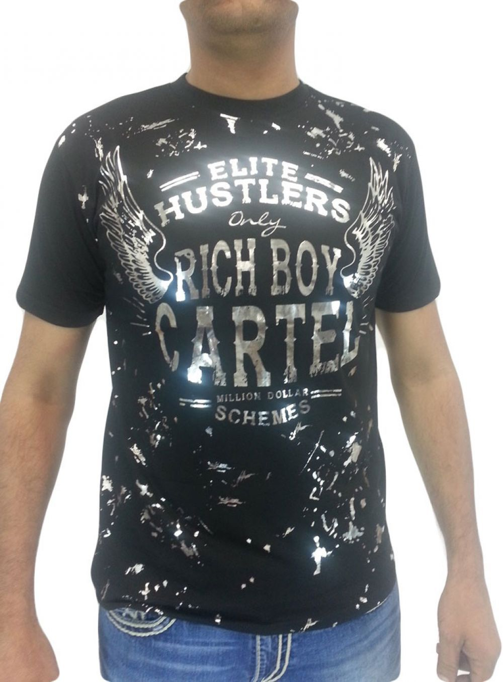 Rich Boy Cartel Men's Mens Elite Hustlers Shirt- Choose ...