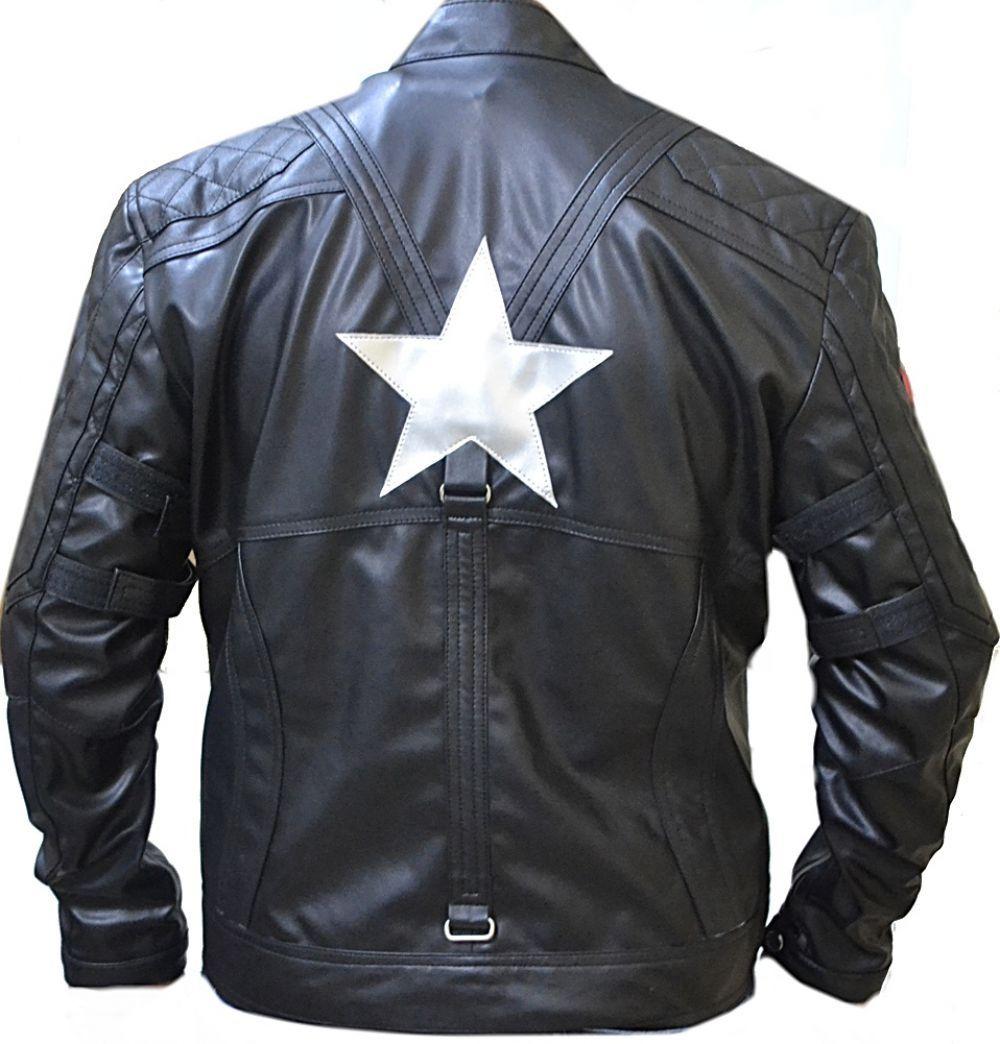 Leather jacket italy - Celebrita Italy Men 039 S American Captain Avenge