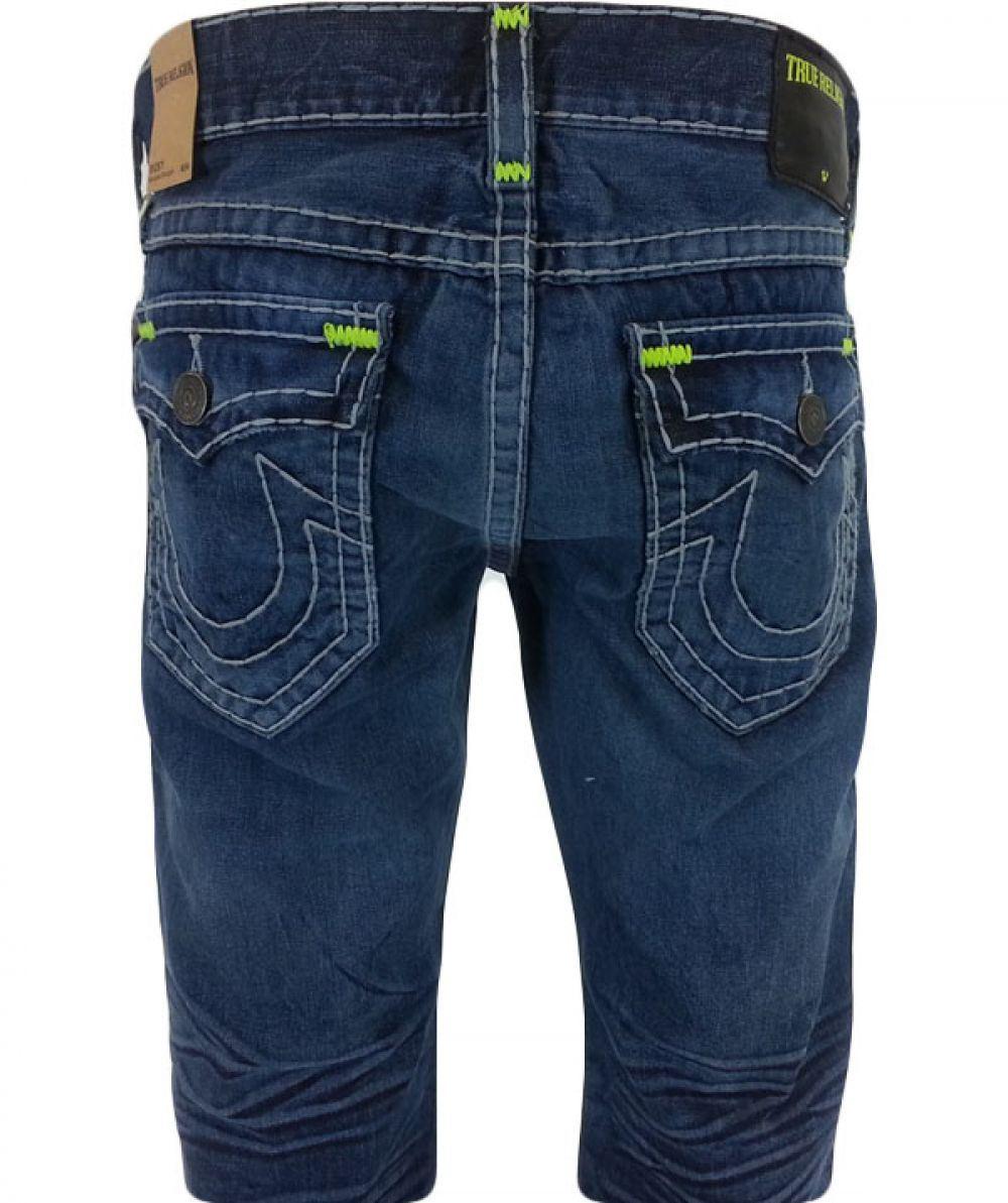 true religion men 39 s ricky w flap jeans choose sizes ebay. Black Bedroom Furniture Sets. Home Design Ideas