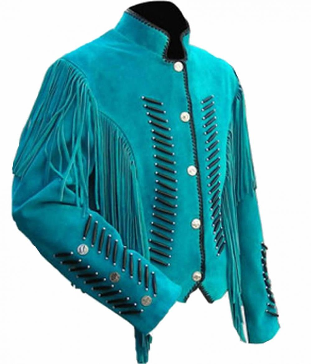 Western leather jackets for men