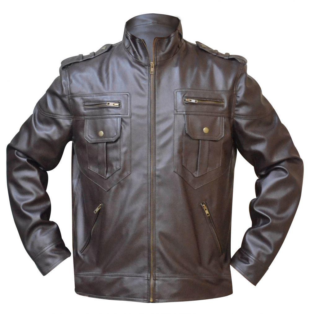 Leather jacket italy - Celebrita Italy Men 039 S Tiger Leather Jacket