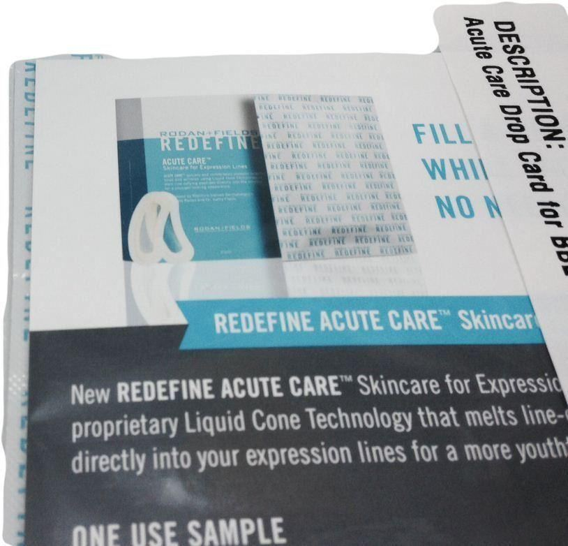 rodan fields redefine acute care  expression lines select packs ebay