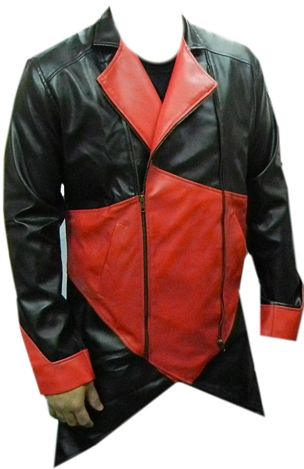 Celebrita Men's Assassin of the Creed Style Leather Jacket ...