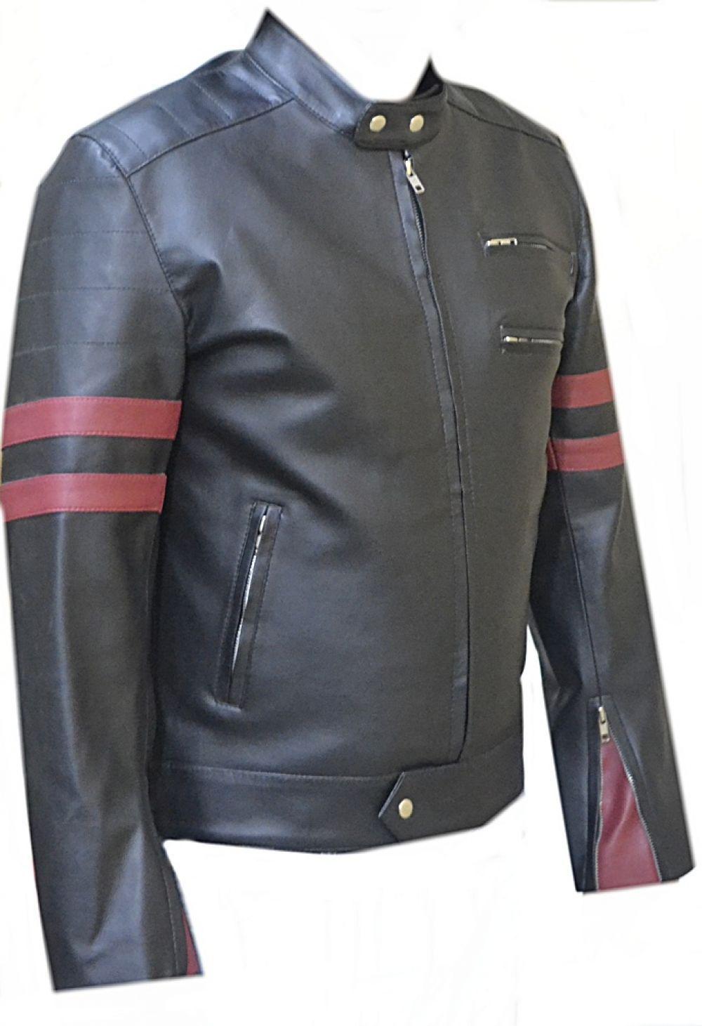 Leather jacket italy - Celebrita Italy Men 039 S Retro Style Biker