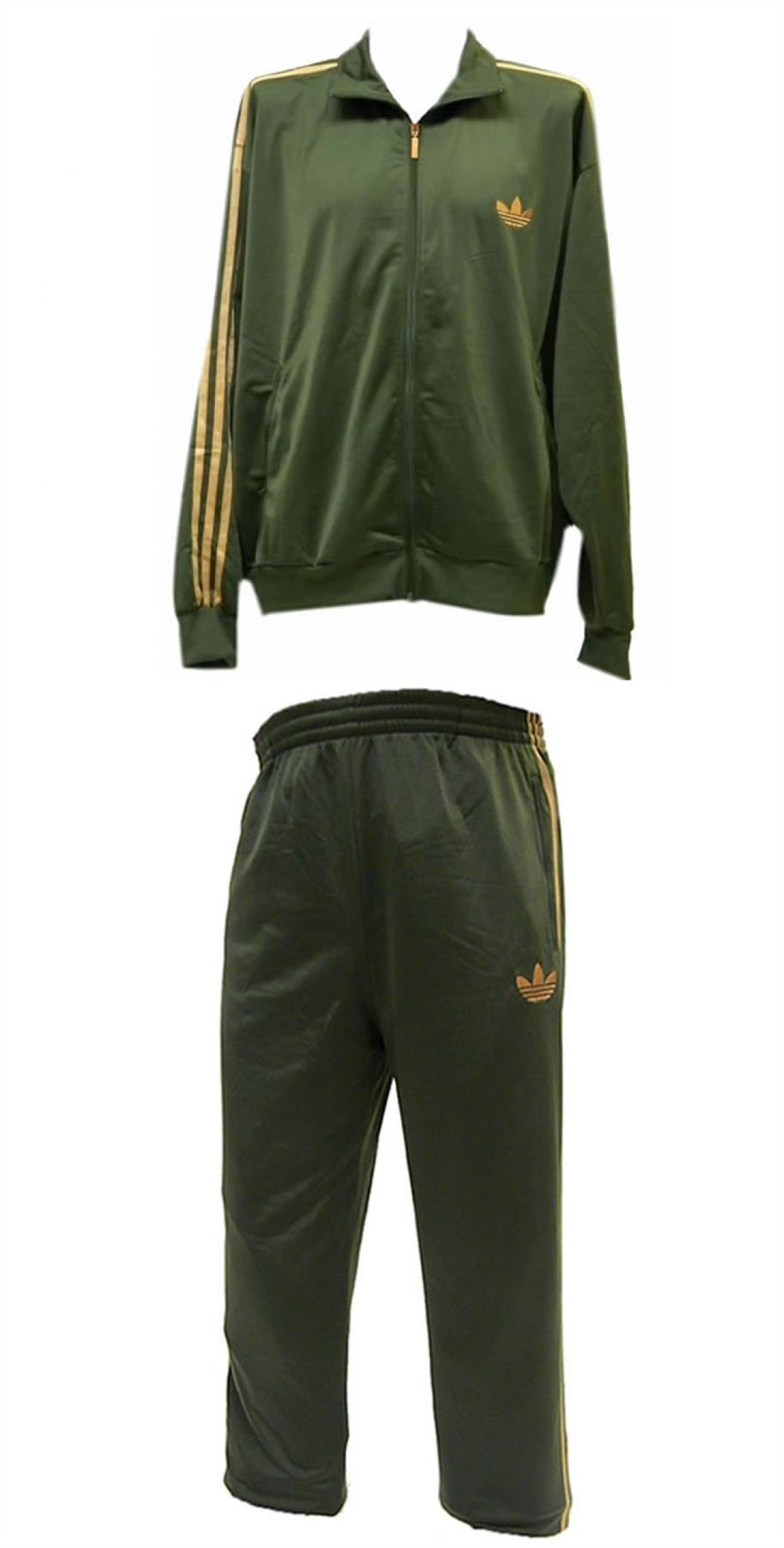 Adidas Mens Full Tracksuit Sports Suit Jogging Training ...  |Athletic Tracksuits