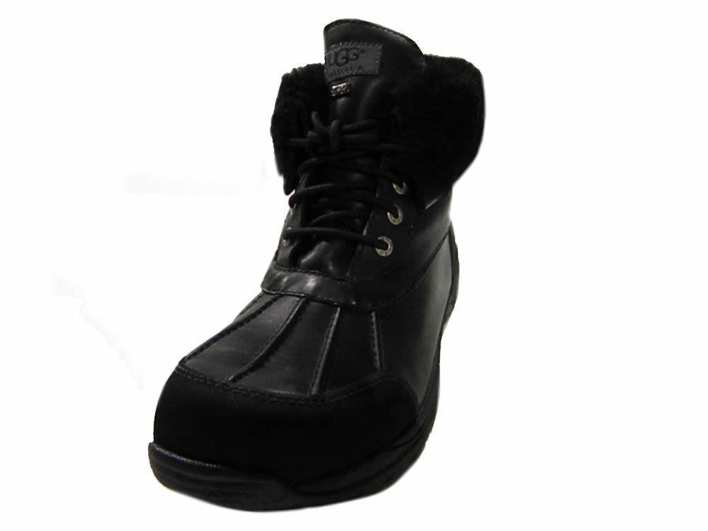 ugg australia mens hilgard leather snow boots 3017