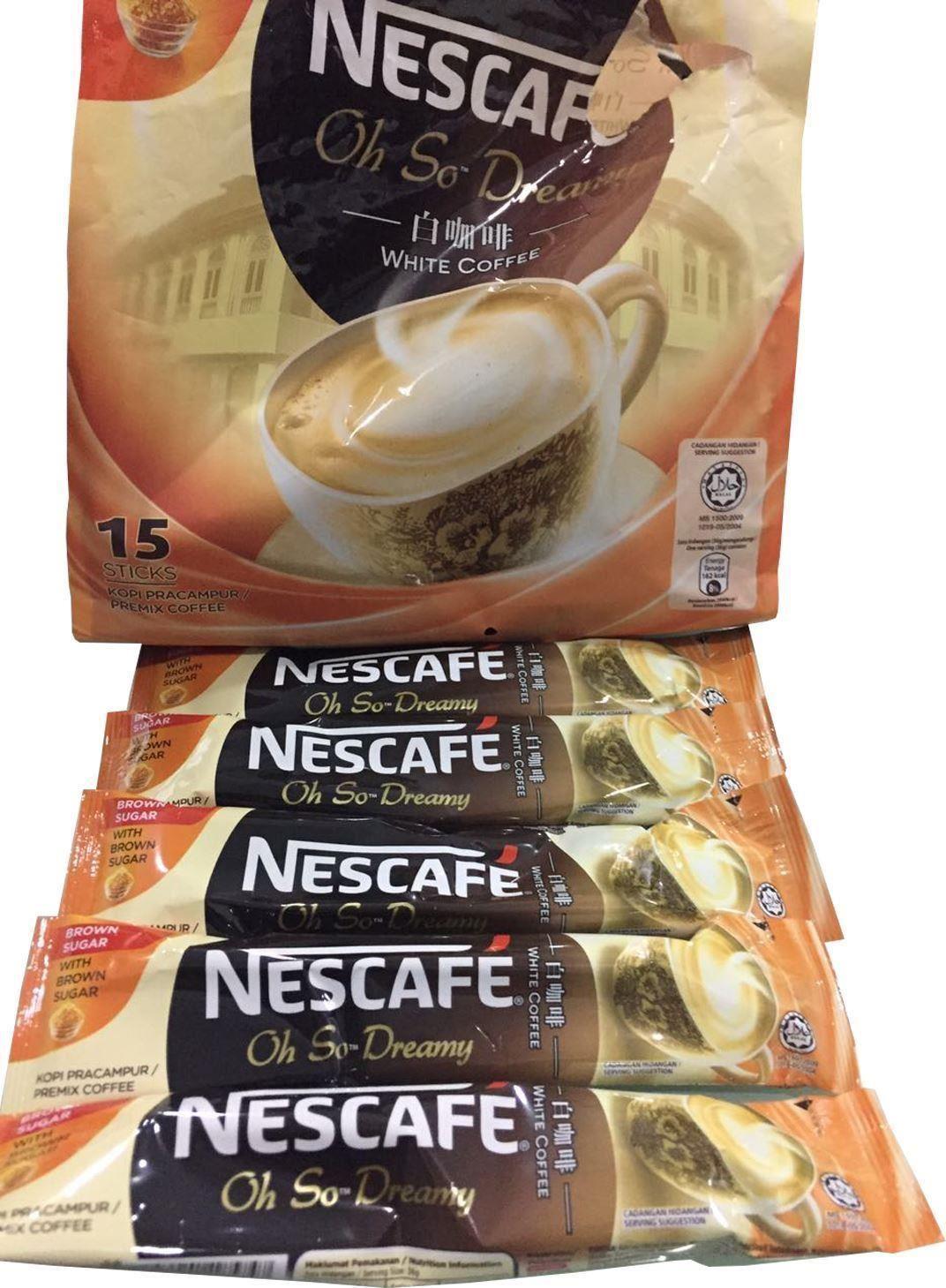 NESCAFÉ Oh So Dreamy White Coffee with Brown Sugar | eBay