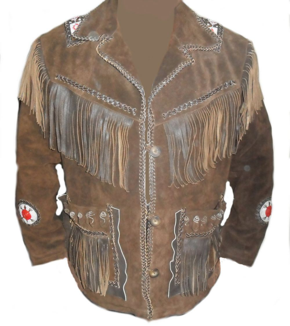 Dark brown leather jackets for men