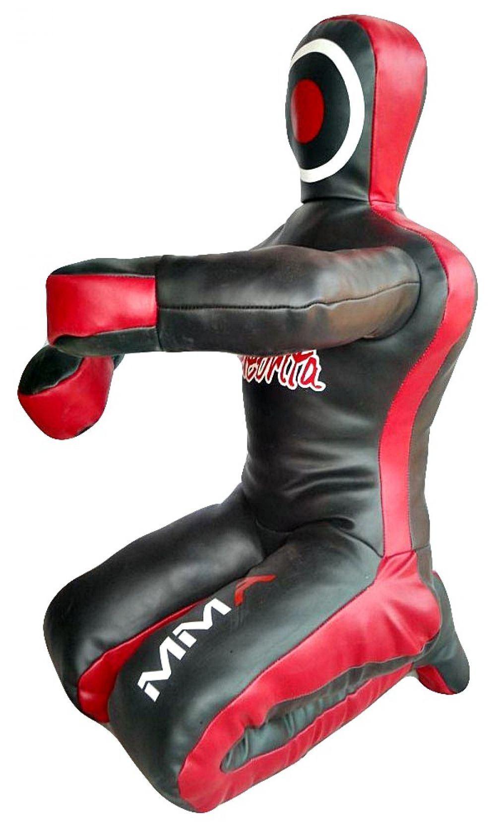 celebrita mma judo punching bag grappling dummy sitting