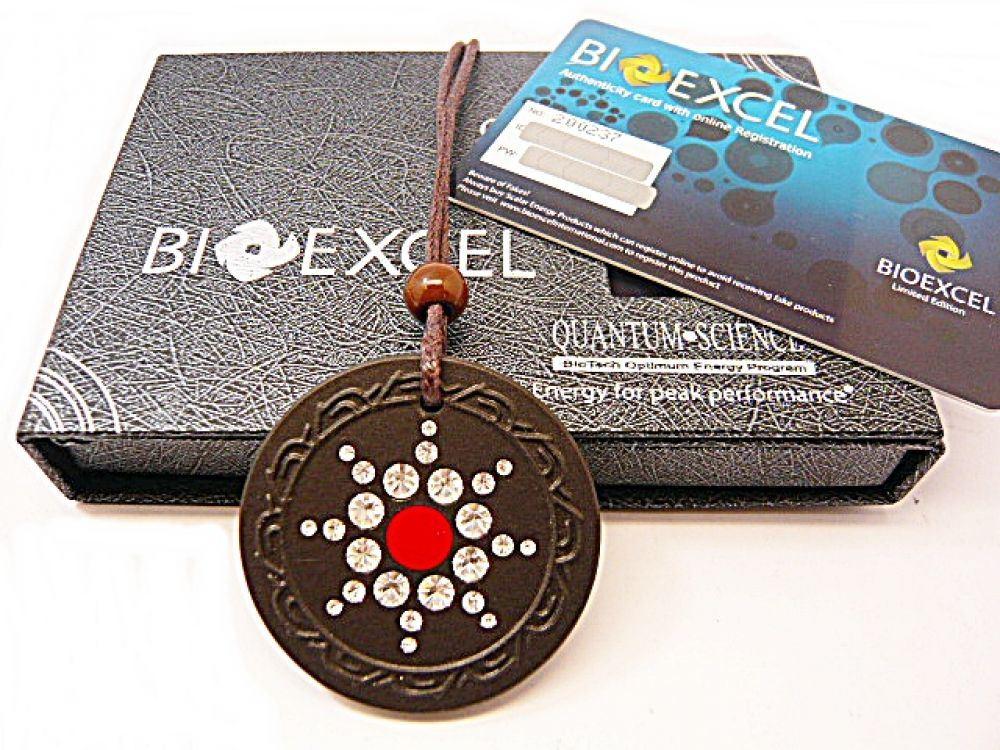 Quantum Science: Bioexcel Quantum Science Energy Health Pendant -Lava FIR