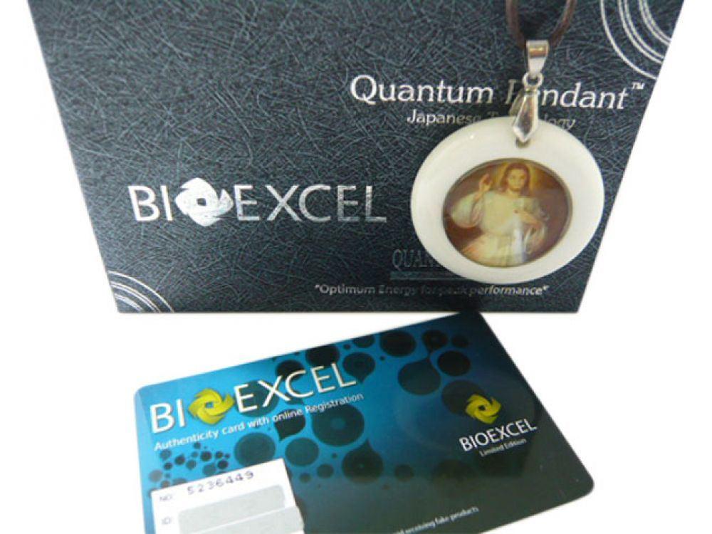 Quantum Science: Bioexcel Quantum Science Scalar Energy Pendant -Christian