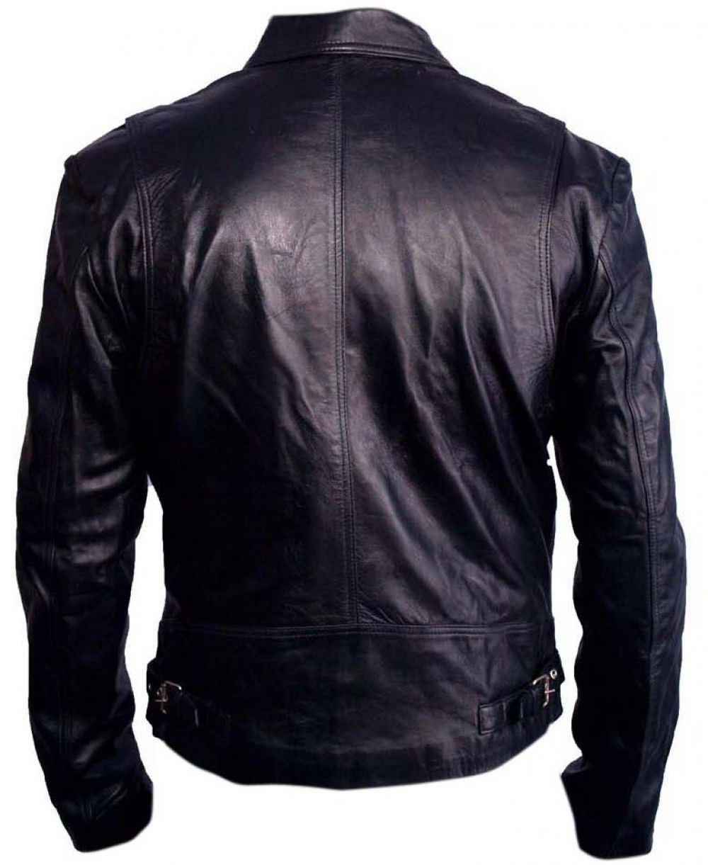 Leather jacket italy - Celebrita Italy Men S Biker Stylish Design Leather Jacket Various Leather Sizes Ebay