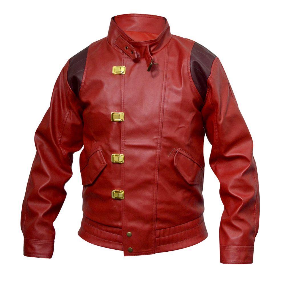 Celebrita Men's Akira King Style Biker Leather jacket ...