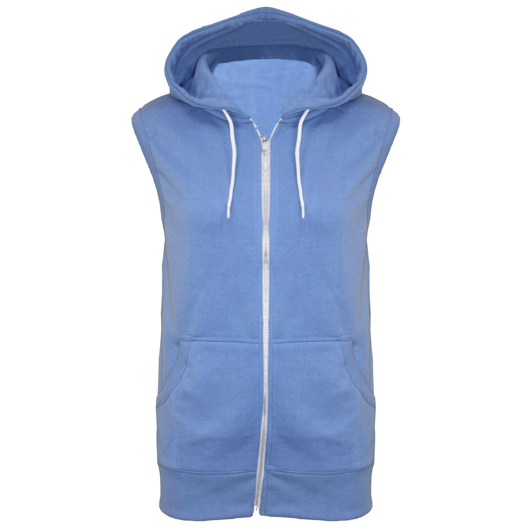 Mens sleeveless hoodies
