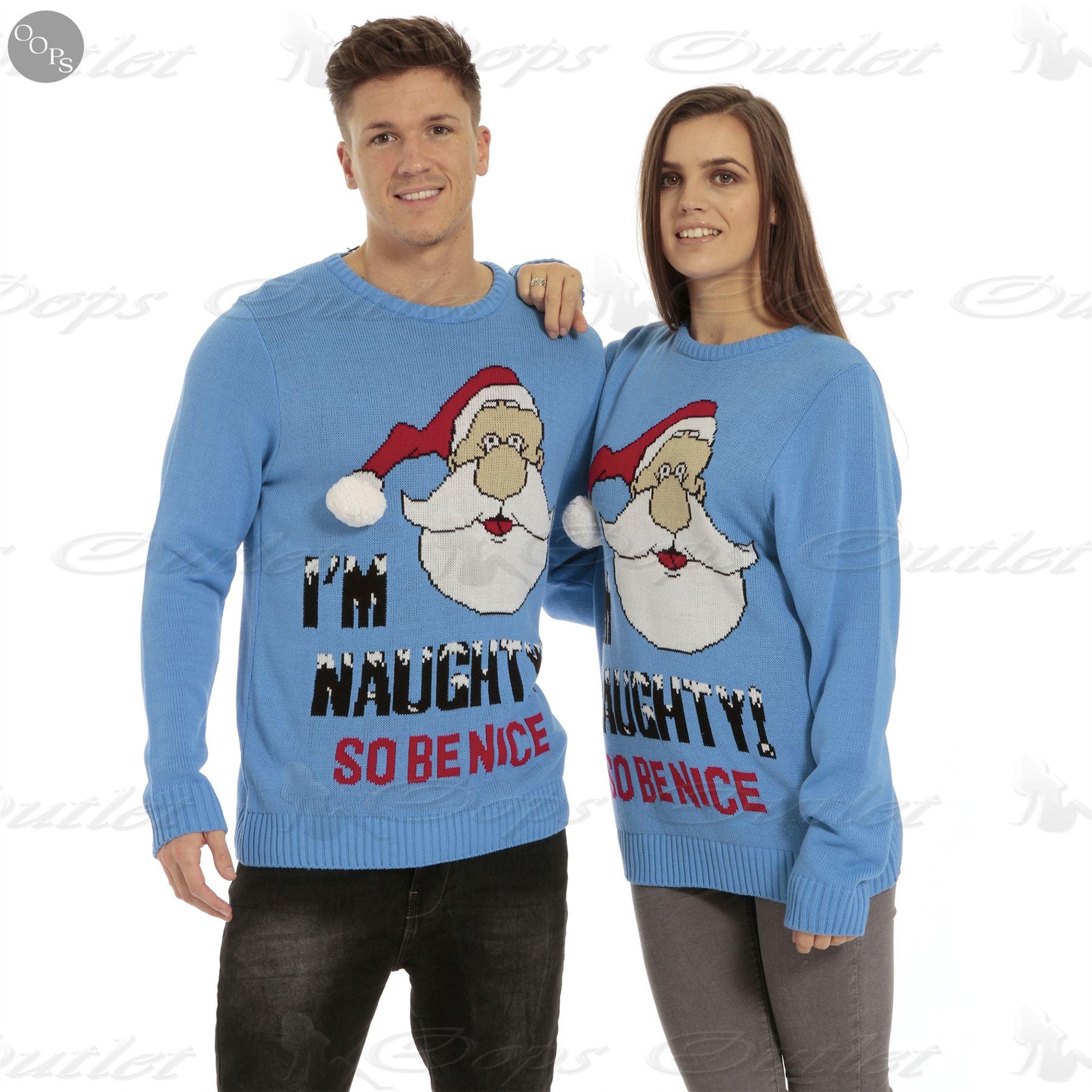 Unisex Christmas Gift Ideas: Mens Womens Unisex Knitted Pom Pom Santa Snowman Olaf