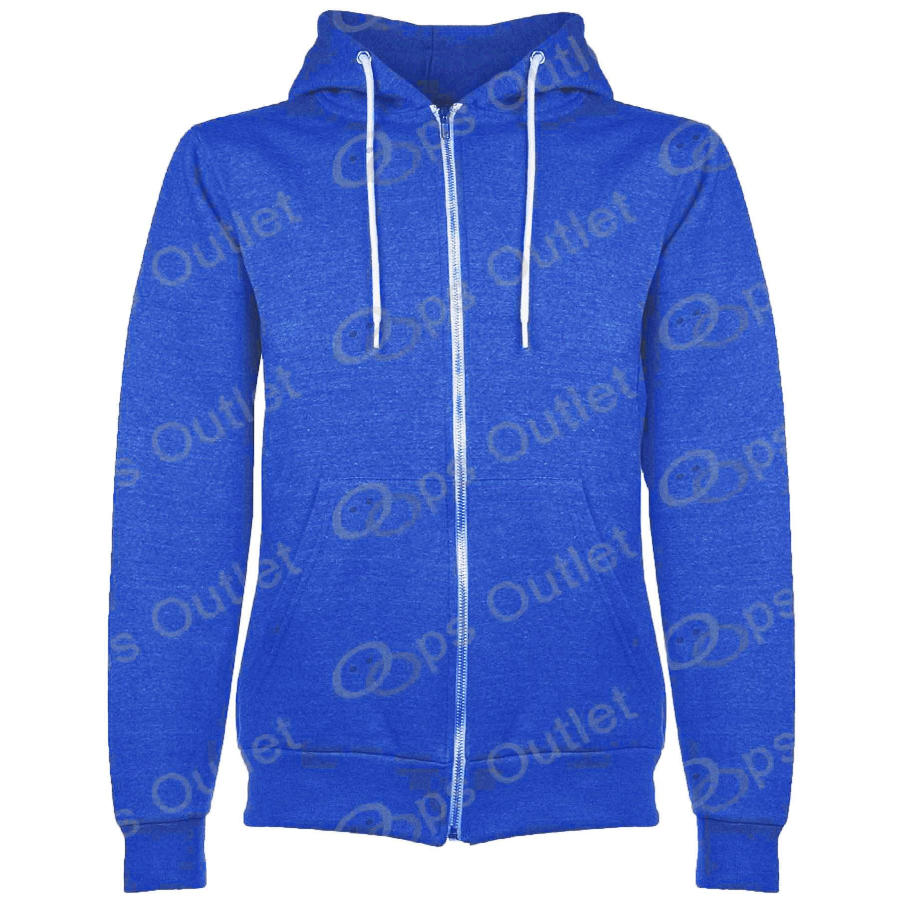 New-Kids-Zip-Up-Fleece-Plain-Childrens-Sweatshirt-Hoodie-Boys-Hoody-Jacket-Top