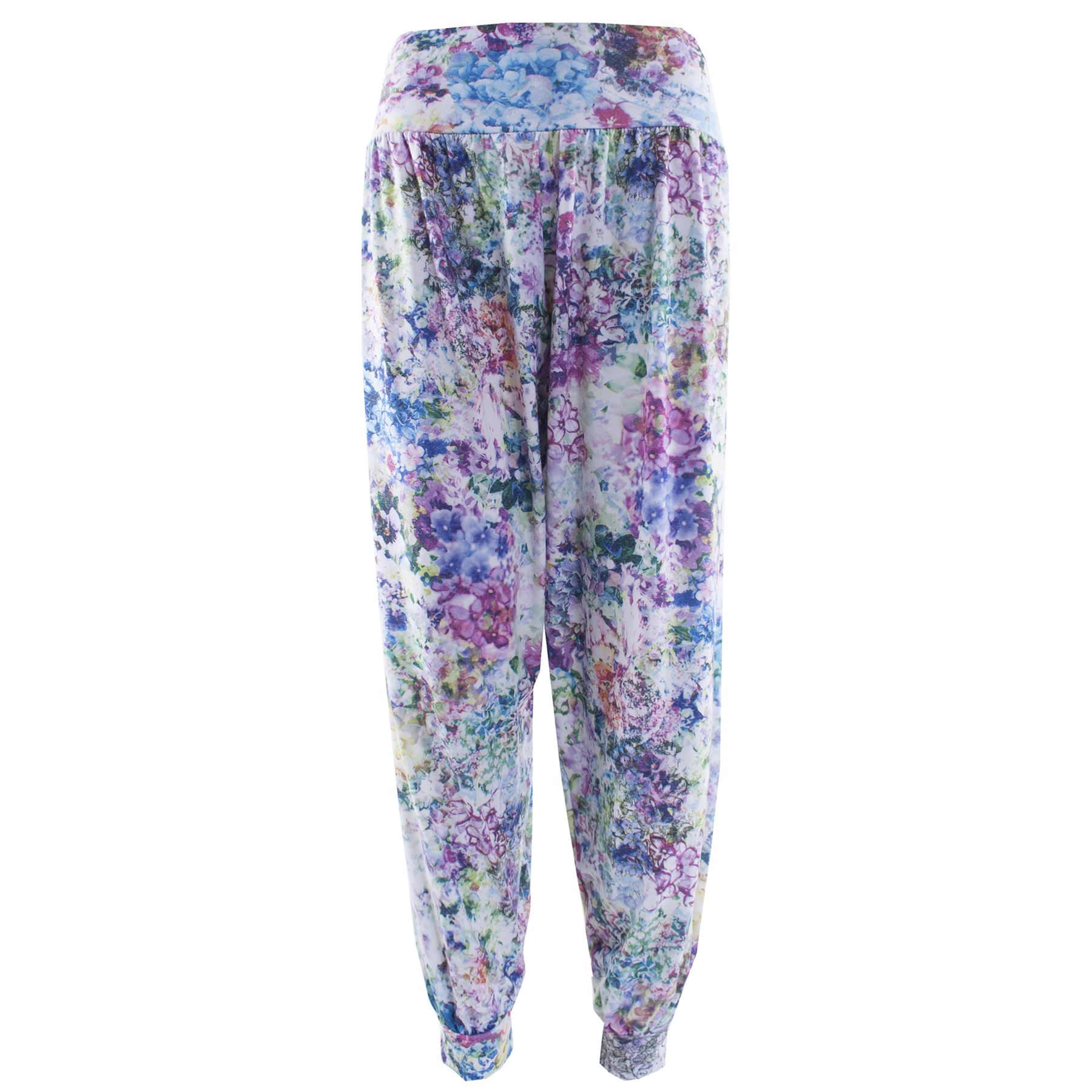 Brilliant New Womens Ali Baba Trousers Ladies Harem Pants Floral Printed Bottoms Leggin