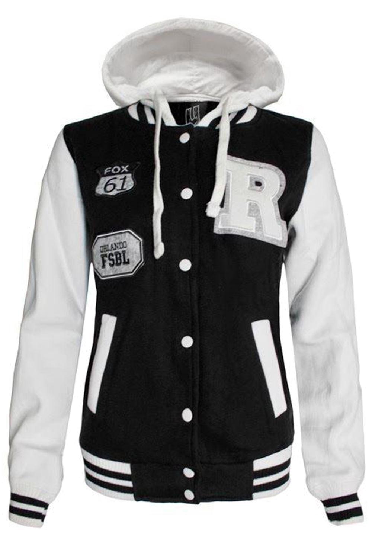 Varsity hoodie jackets