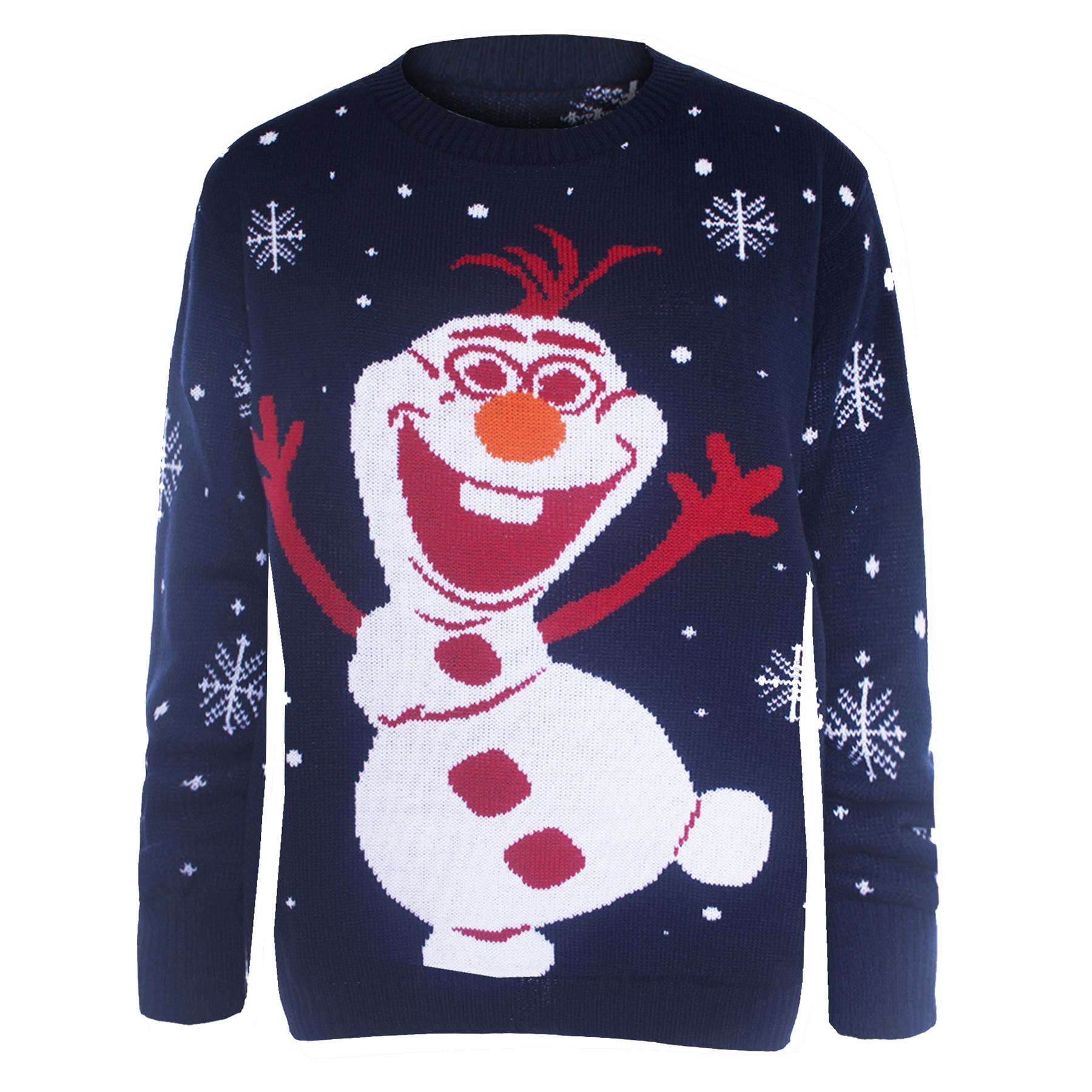 Mens Womens Unisex Knitted Pom Pom Santa Snowman Olaf Christmas ...