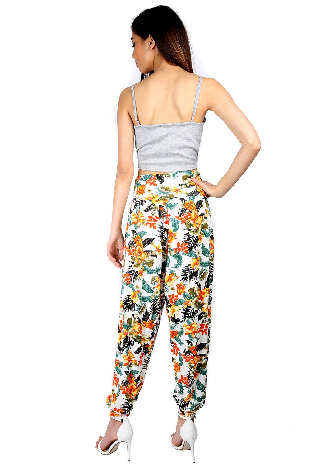 Awesome Aliexpresscom  Buy Brand Design Vintage Floral Printed Harem Pants Women Ni