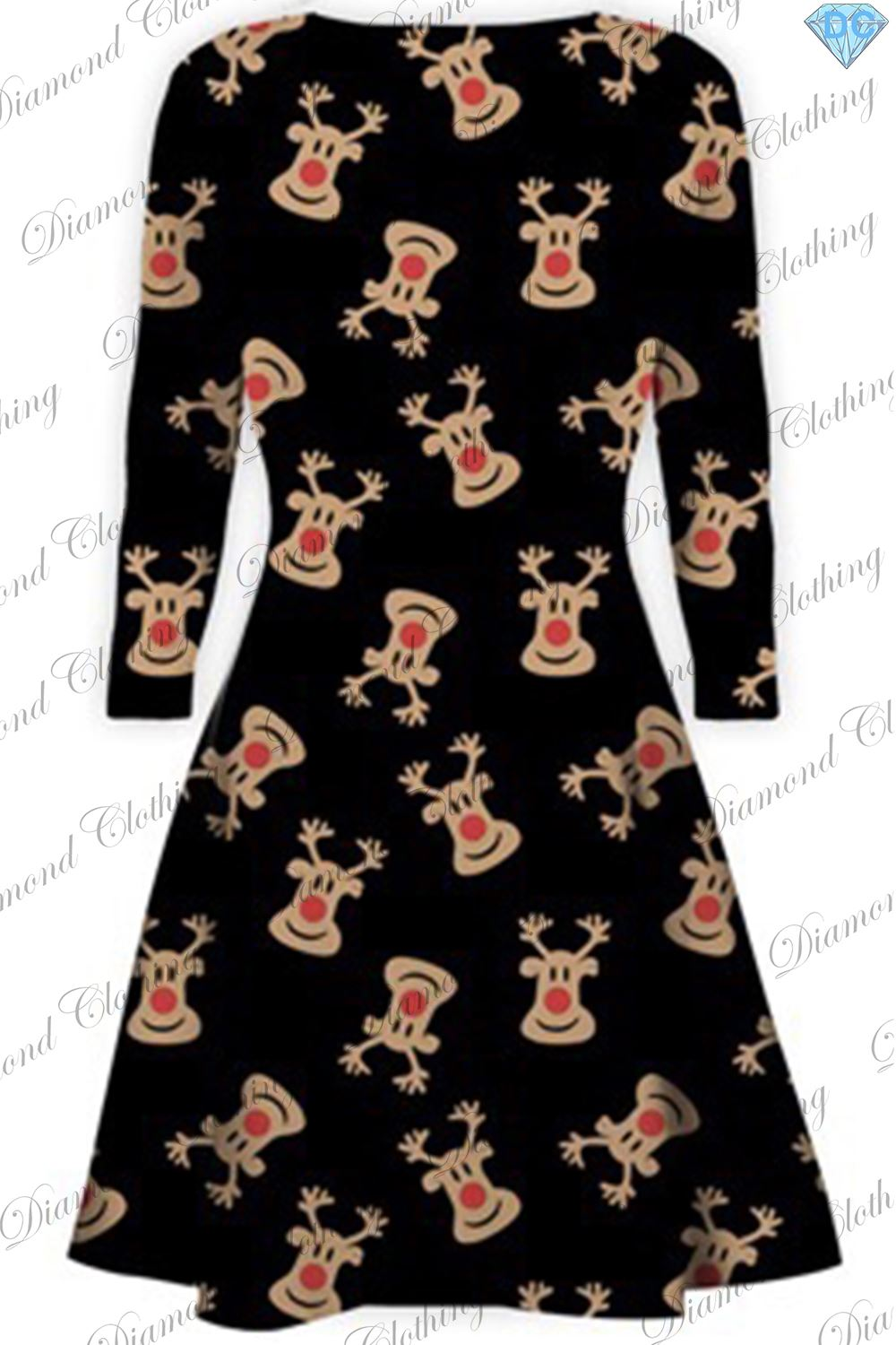 Details about womens ladies xmas santa gifts snowman christmas printed