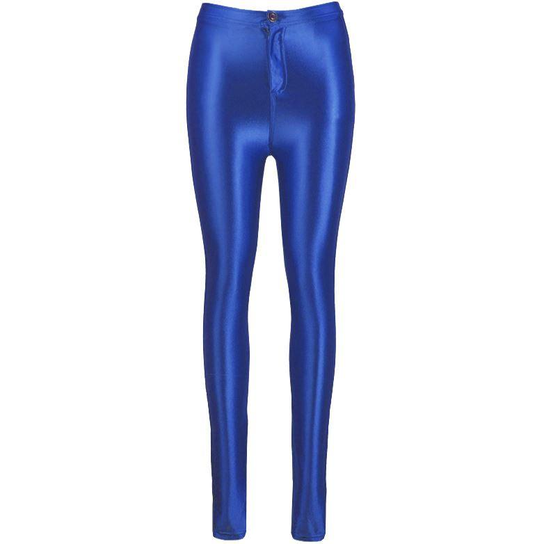 womens american apparel disco shiny pants ladies leggings