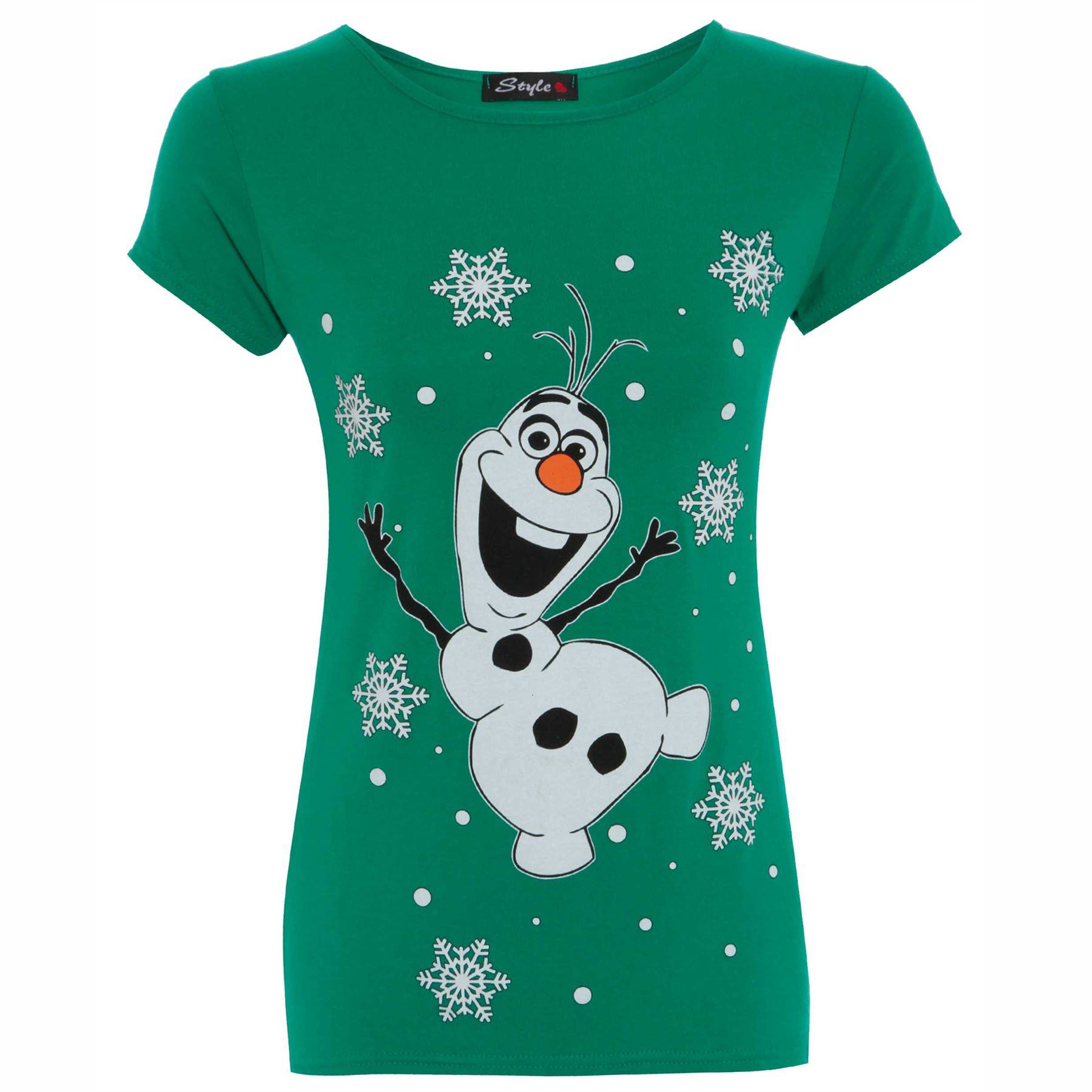 Womens Ladies Olaf Frozen Knitted Novelty Rudolph Christmas Sweater ...