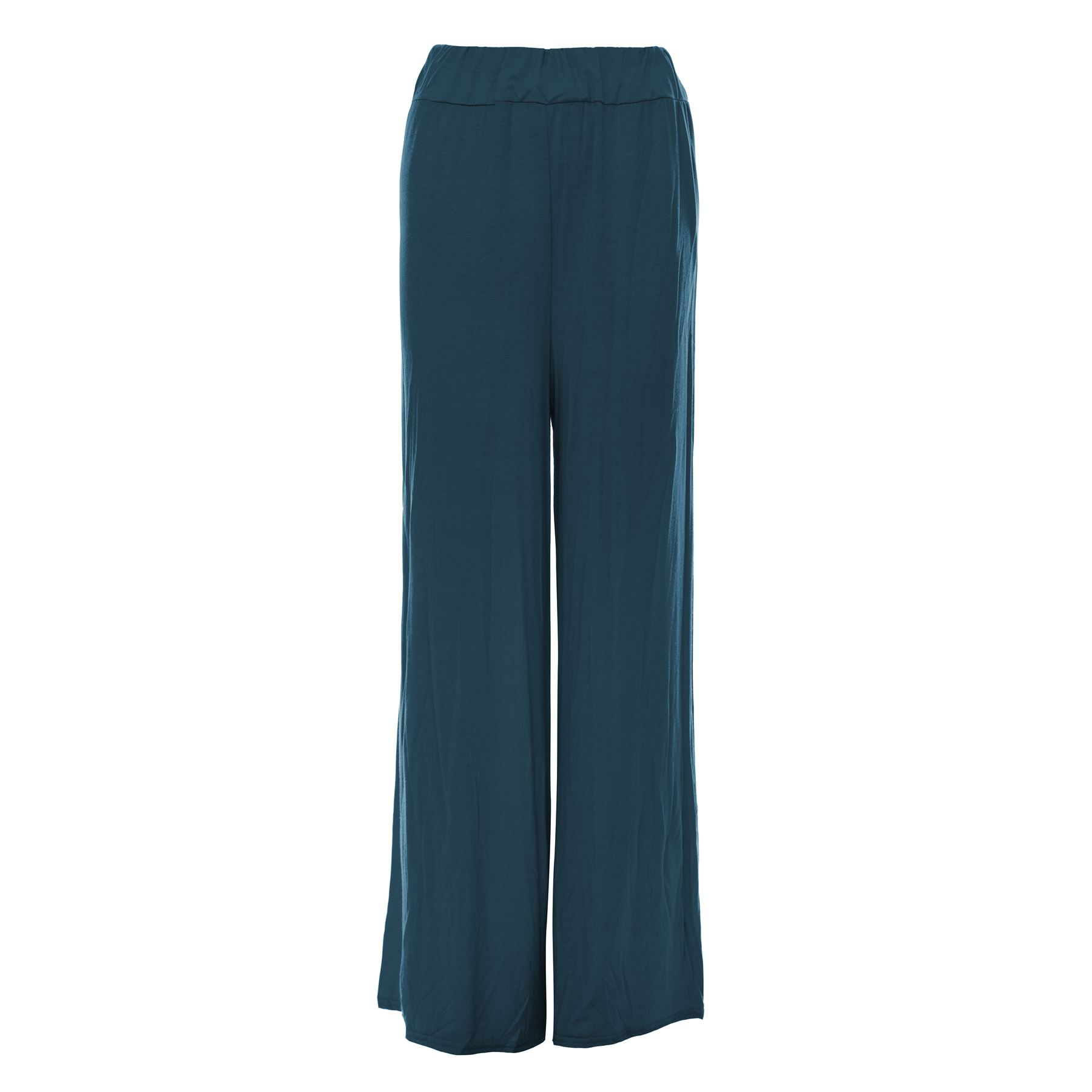 Excellent Boho Chic, With A Feminine Flair These Palazzo Pants By Sky &amp Sand, Feature A Solid Design, A Shirred Elastic Waist, And Fabric Ties 100% Rayon Boho Chic, With A Feminine Flair These Palazzo Pants By Sky &amp Sand, Feature A Solid Design, A