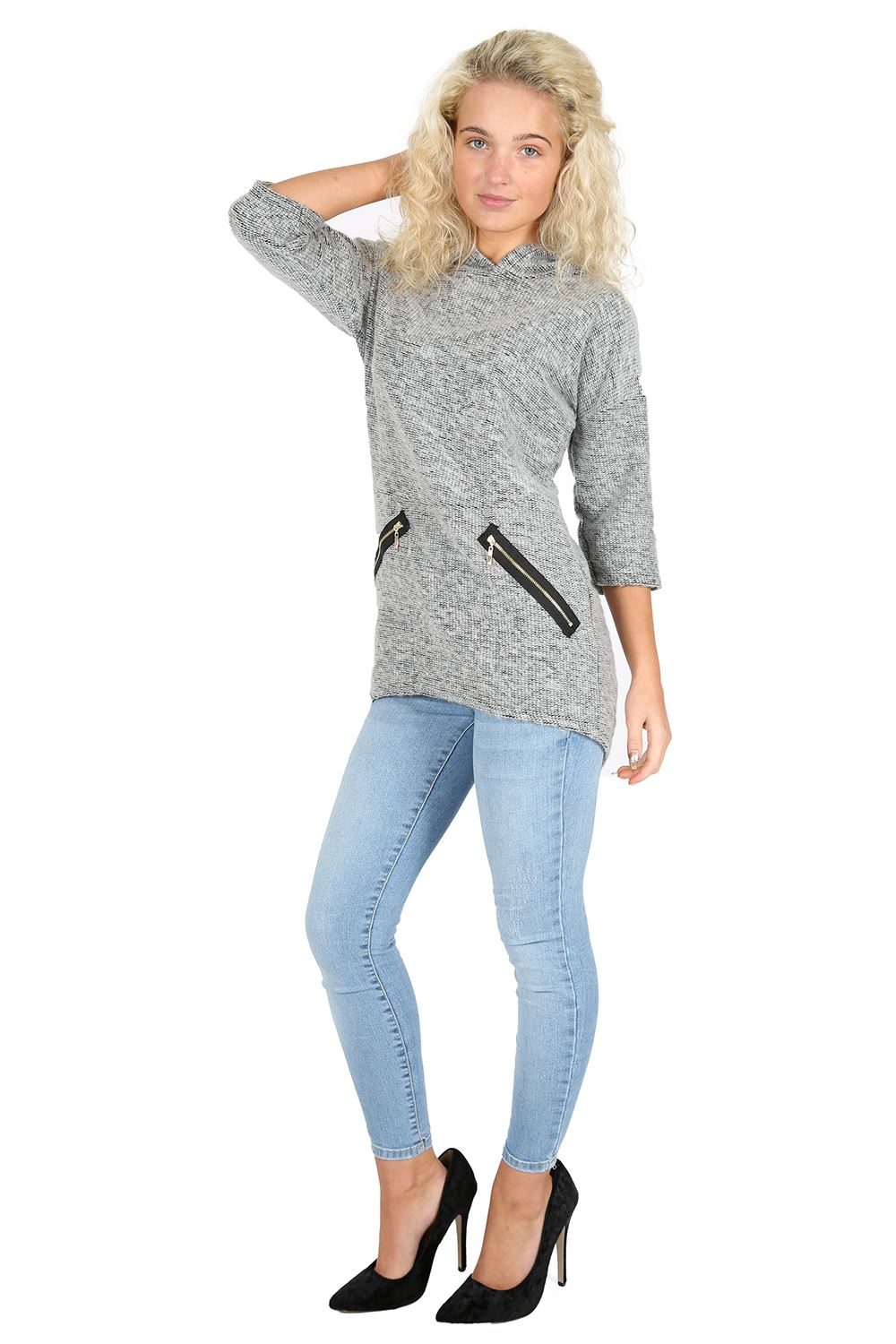 how to add a hood to a knitted sweater