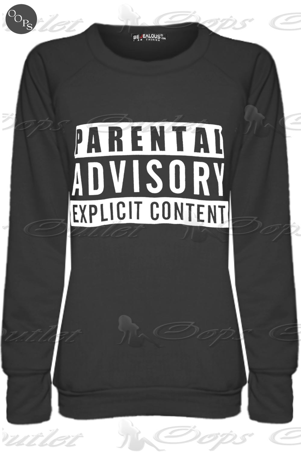 how to add parental advisory to a picture on iphone