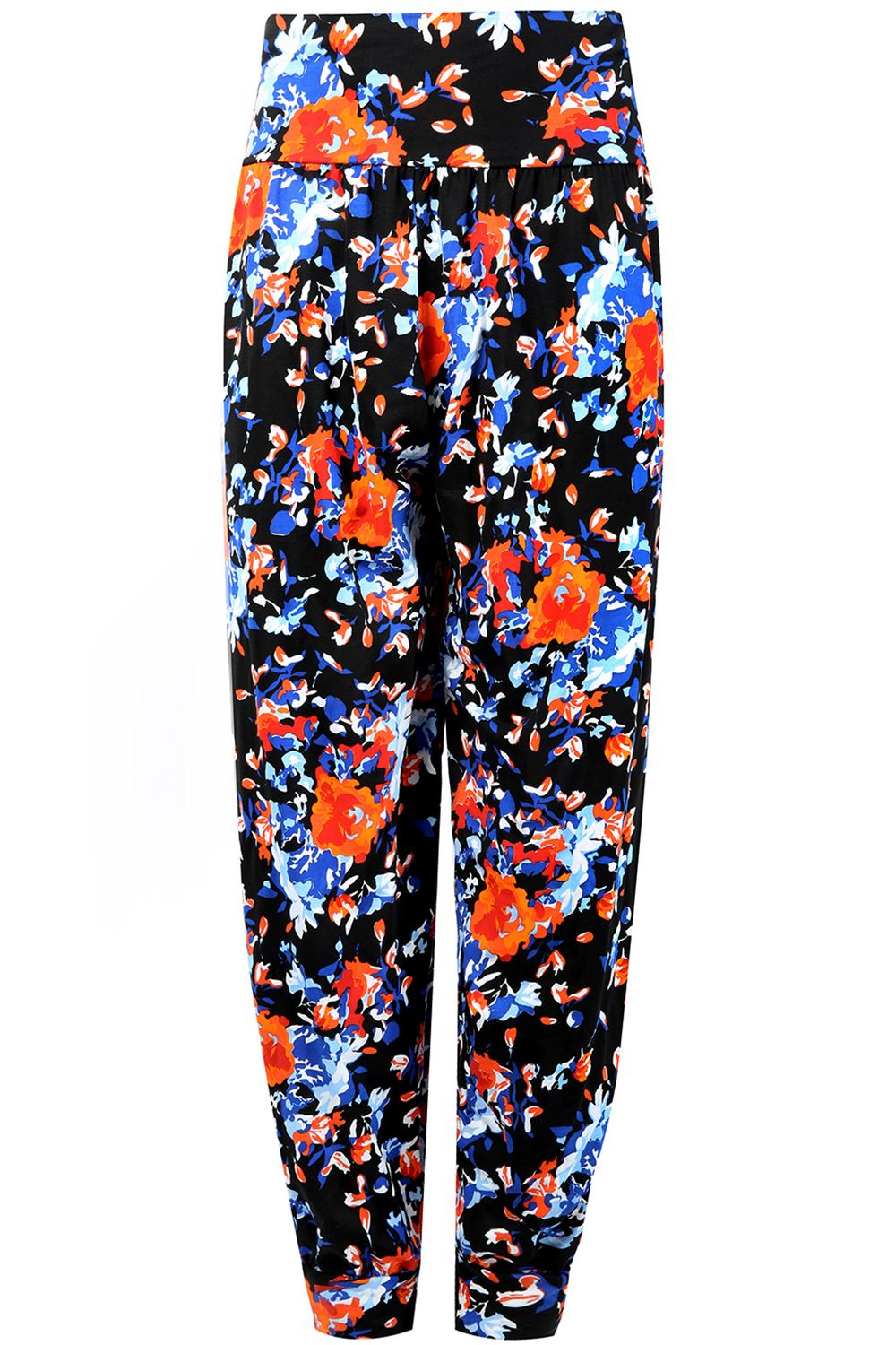 Floral Pants. Floral pants are a fun, feminine way to add freshness to any wardrobe. Tons of solid color tops and sweaters are just waiting to be jazzed up with an adorable floral print. This is an effortless fashion statement; simply choosing a top in one of the shades of the pants and adding shoes is all it takes to find success.