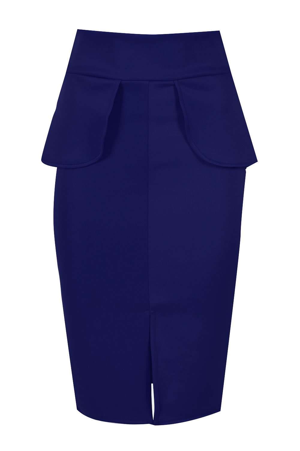 new s pencil fit bodycon peplum frill high waisted