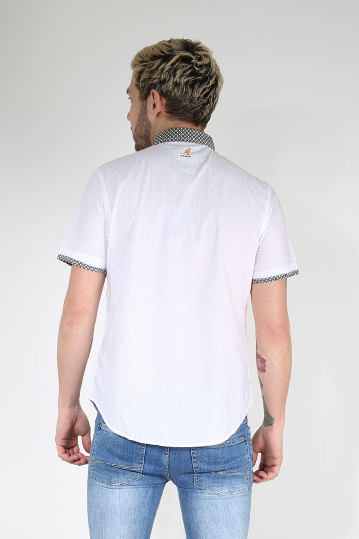 Kangol Mens Original Short Sleeve Collared Neck Dotted