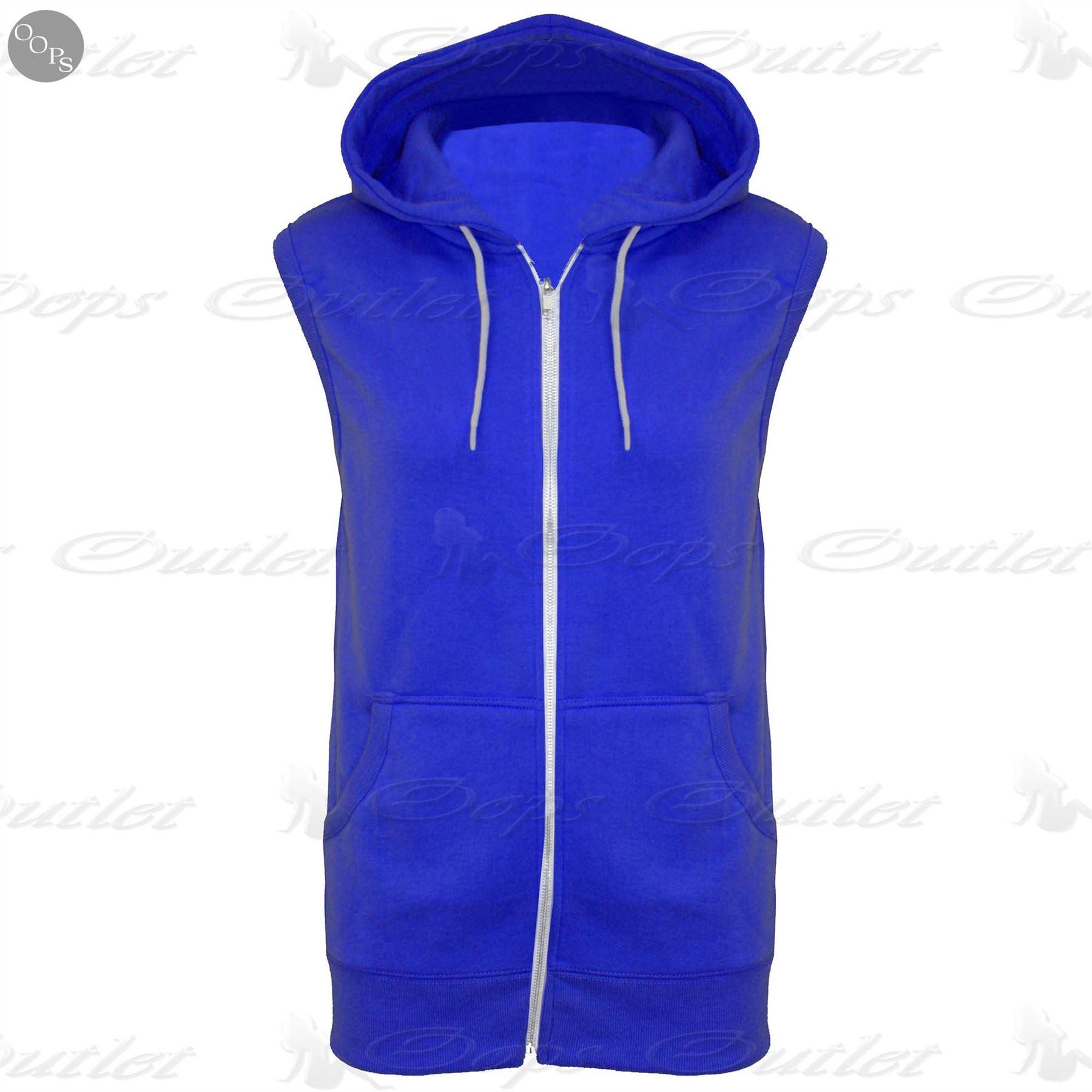 Kids Sleeveless Hooded Hoodie Casual Zipper Sweatshirt Gilet Jacket Jumper Top | EBay
