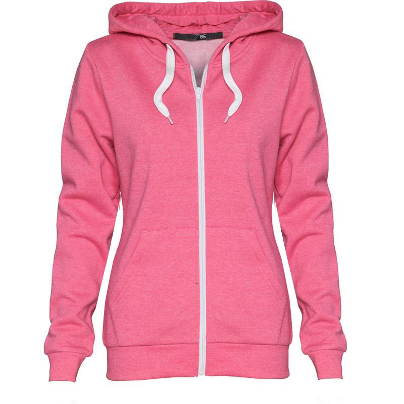 Women s fashion zip-up hoody, , Manufacturers from Zhongshan Xinkailun