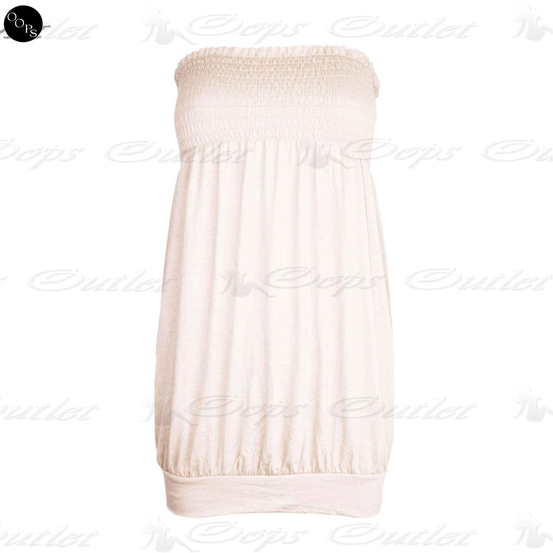 Womens-Sheering-Casual-Plain-Ladies-Celeb-Baggy-Jersey-Vest-Bandeau-Boobtube-Top