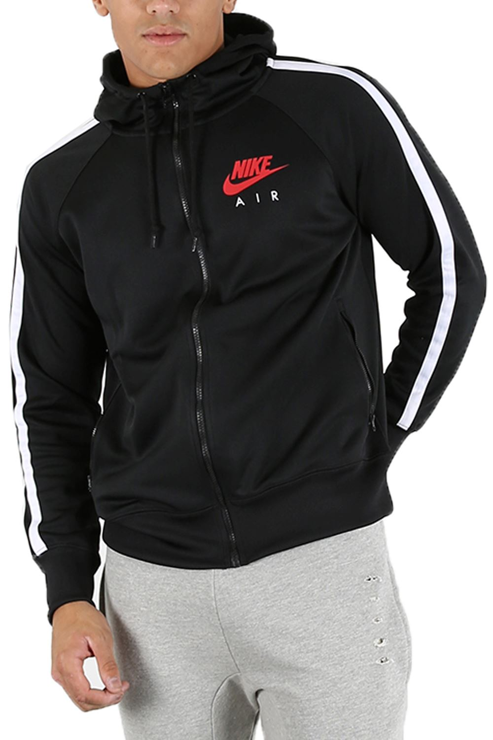 Nike Air Limitless Mens Side Pocket Zip Up Track Hoody Hooded Hoodie Jacket Top | EBay