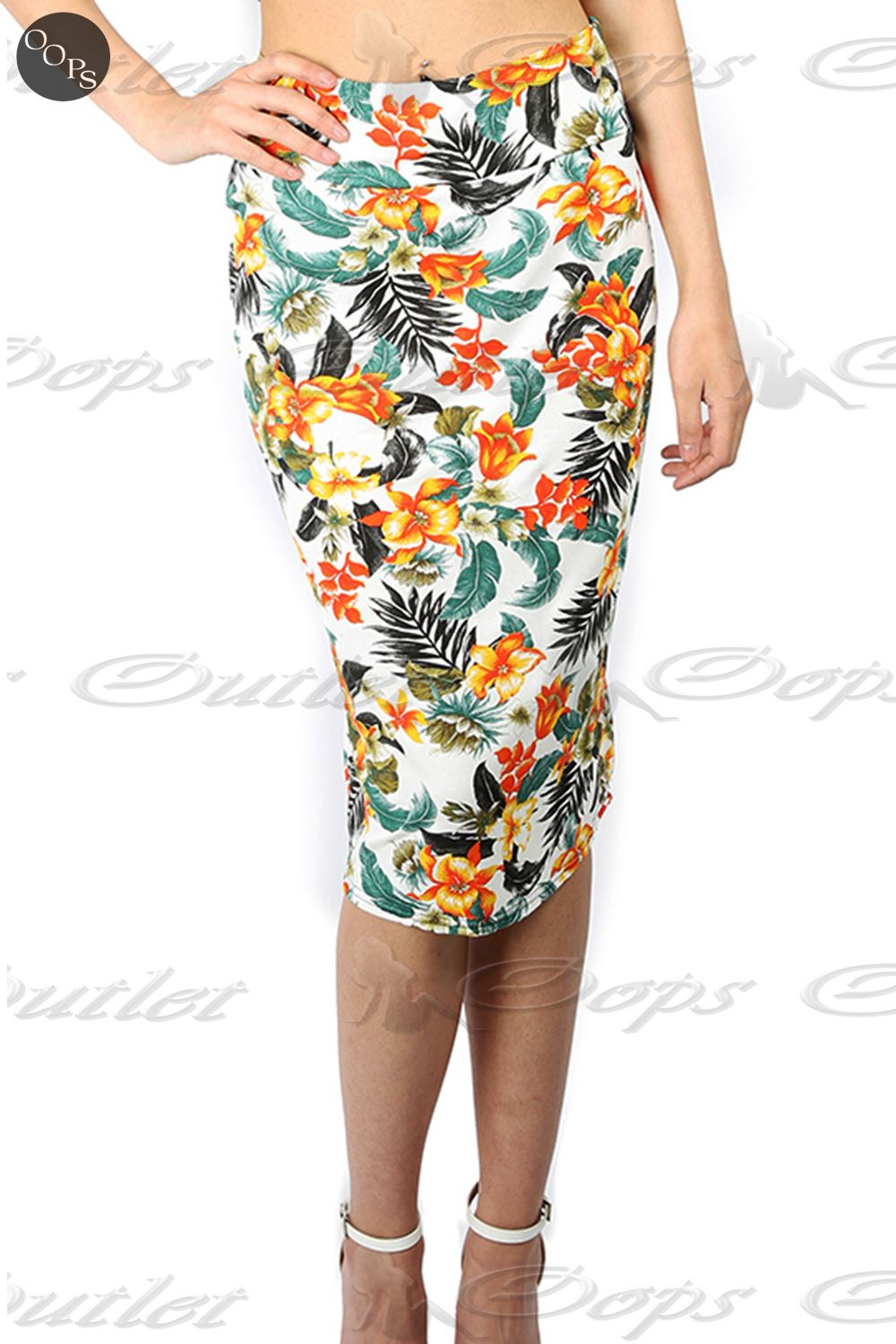 bodycon summer print stretchy womens floral