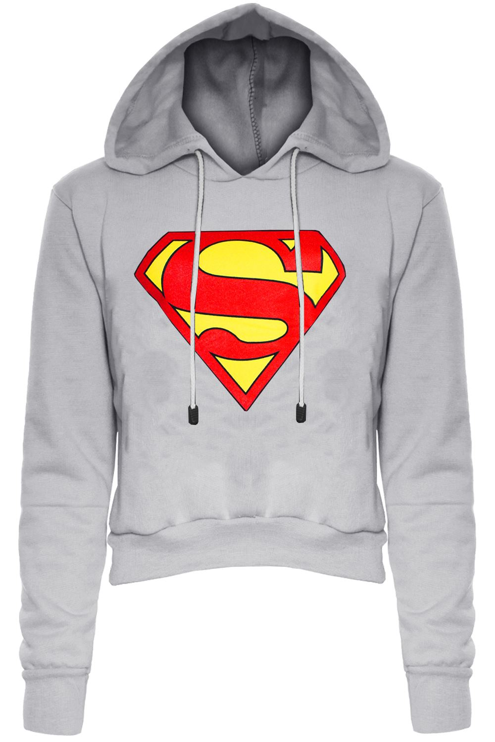 Superman Hoodies & Sweatshirts Check out our incredibly warm and fashionable Superman Hoodies and Sweatshirts for men, women, and kids! Without the benefit of Superman's always temperate super-skin, you'll need some warmer clothing in order to tolerate your stay at the Fortress of Solitude.