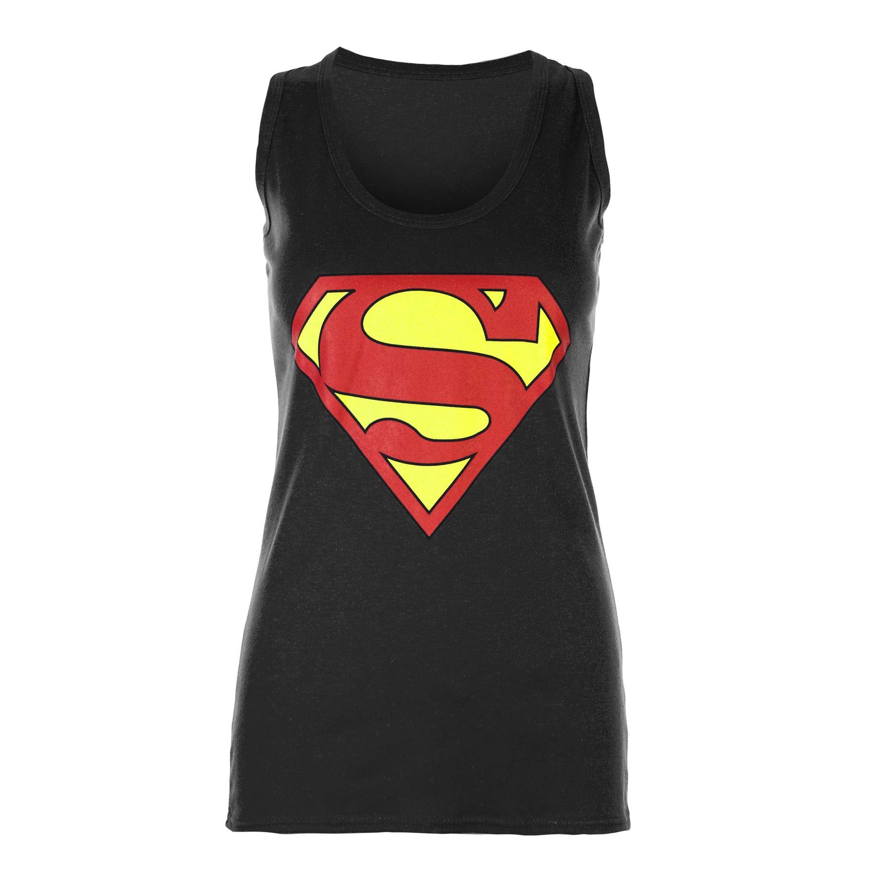 ladies full sleeve superman tee shirt womens batman